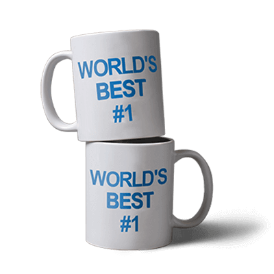 World's Best #1 Mug