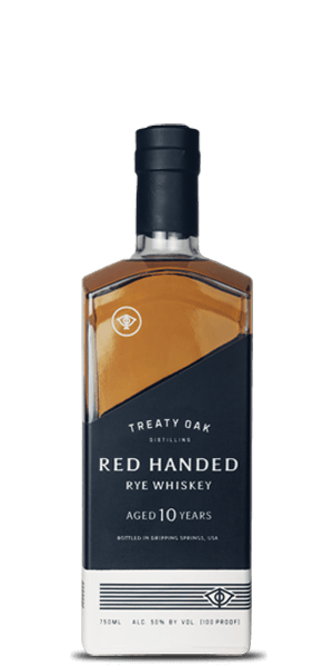Treaty Oak Red Handed Rye 10 Year Old
