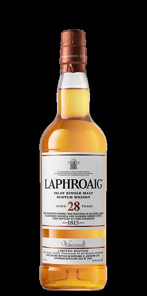 Laphroaig 28 Year Old - signed by Master Distiller