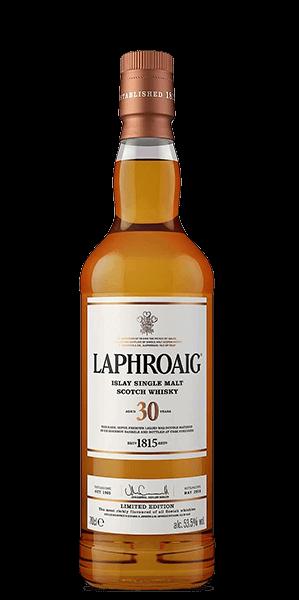 Laphroaig 30 Year Old - signed by Master Distiller