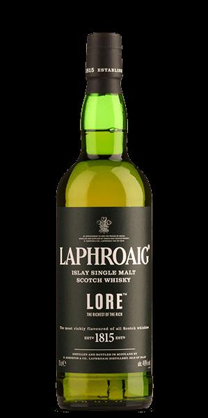 Laphroaig Lore - signed by Master Distiller