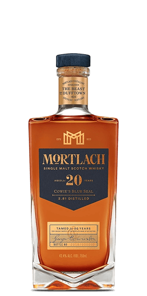 "Mortlach 20 Year Old ""Cowie's Blue Seal"""