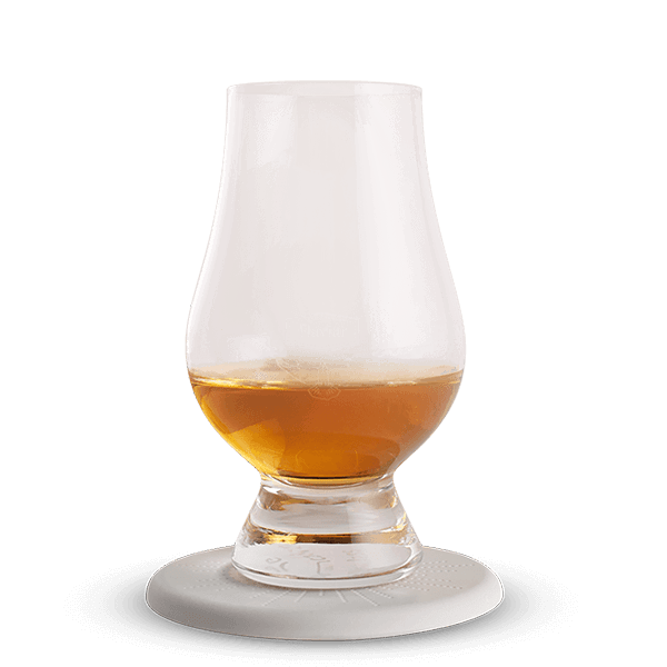 4 Flaviar Whisky Glasses & Coasters