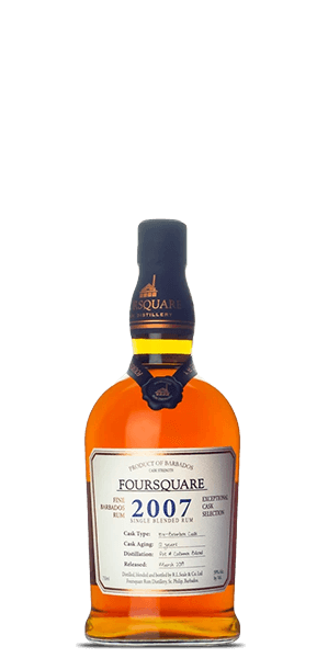 Foursquare 2007 Single Blended Rum