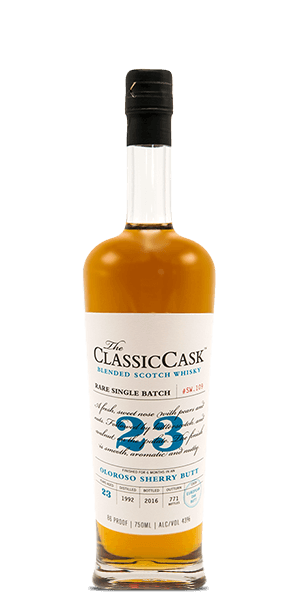 The Classic Cask 23 Year Old Oloroso Sherry Finish