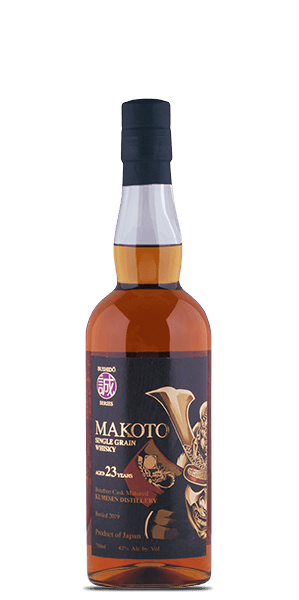 Makoto Single Grain 23 Year Old Japanese Whisky