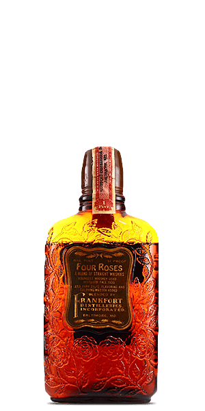 Four Roses Blended Straight Whiskey 1930s