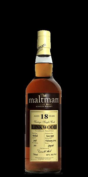 The Maltman Linkwood Single Malt 18 Year Old