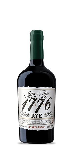 James E. Pepper 1776 Barrel Proof Rye Whiskey