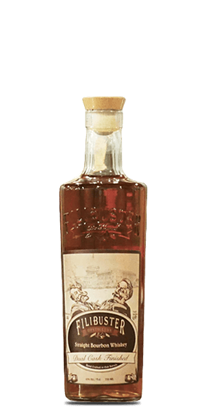 Filibuster Dual Cask Straight Bourbon Whiskey