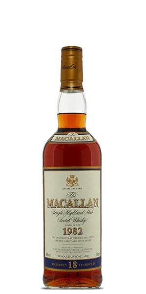 The Macallan 18 Year Old 1982