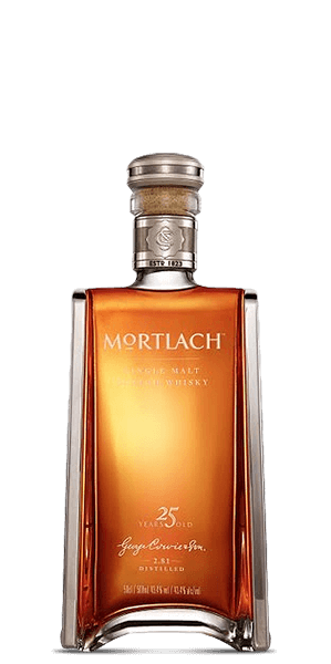 Mortlach 25 Year Crystal Decanter 2014 Release