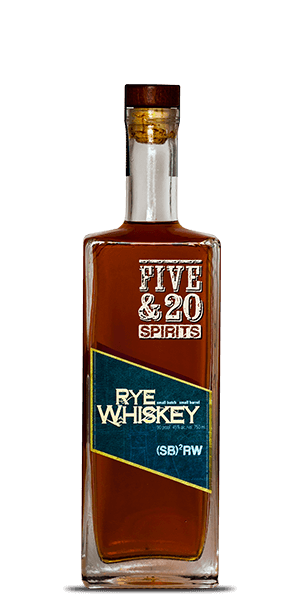 Five & 20 Straight Rye Whiskey
