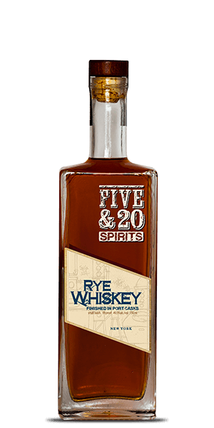 Five & 20 Port Finish Rye Whiskey