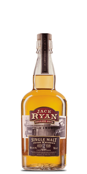 Jack Ryan Beggars Bush 12 Year Old Single Malt Irish Whiskey