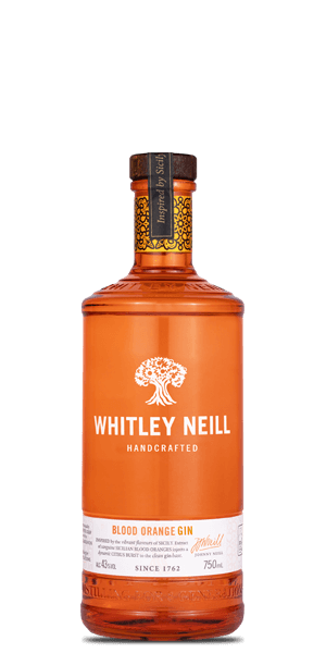 Whitley Neill Blood Orange Handcrafted Dry Gin