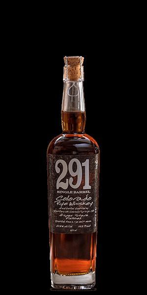 291 Colorado Single Barrel Rye Whiskey