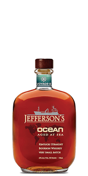 Jefferson's Ocean Aged at Sea Voyage 8 Bourbon