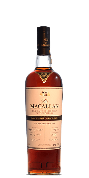 The Macallan Exceptional Single Cask 2018/ESB-9064/03