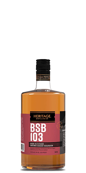Heritage Distilling BSB 103 Brown Sugar Bourbon