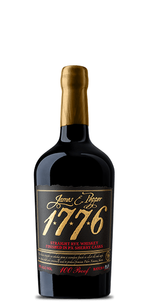 James E. Pepper 1776 Rye Whiskey Sherry Cask Finished