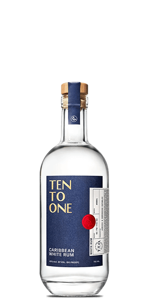 Ten To One Caribbean White Rum