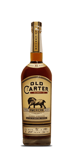 Old Carter 12 Year Straight American Whiskey Batch 3