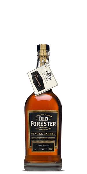 Old Forester Bourbon Flaviar Single Barrel Selection