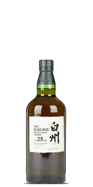 Hakushu 25 Year Old Limited Edition