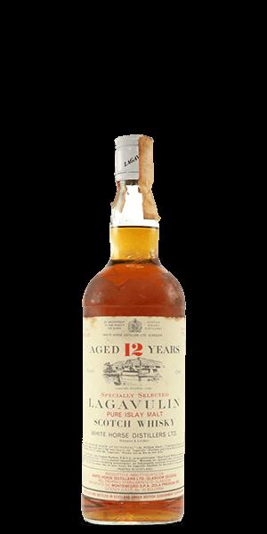 Lagavulin 12 Year Old - 1980s Bottling (White Horse Distillers)