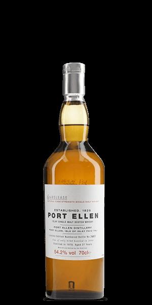 Port Ellen 27 Year Old 1978 - 6th Release