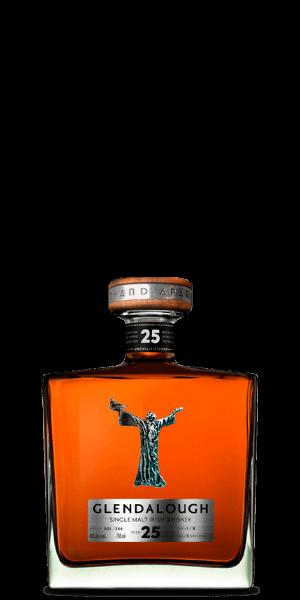 Glendalough 25 Year Old Single Malt Irish Whiskey