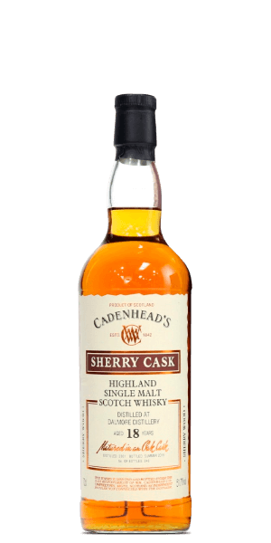 The Dalmore 2001 Cadenhead's 18 Year Old Sherry Cask