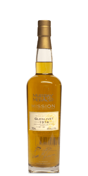The Glenlivet 1974 Murray McDavid 28 Year Old Mission