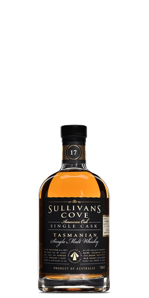 Sullivans Cove Old & Rare American Oak 17 Year Old Single Cask