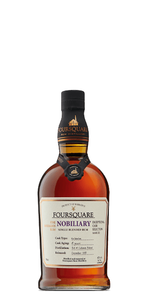 Foursquare Nobiliary 14 Year Old Rum