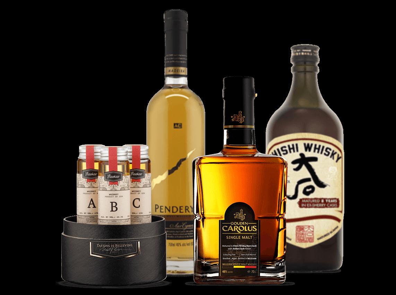A Tale Of Three Whiskies