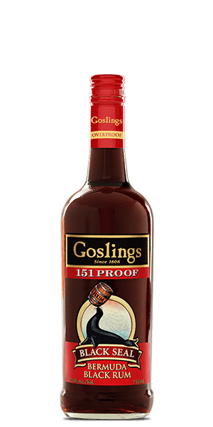 Goslings Black Seal Rum 151