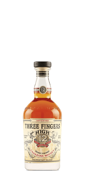 Three Fingers High 12 Year Old Canadian Whisky