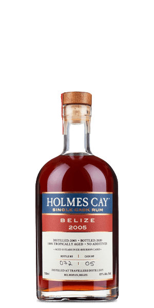 Holmes Cay Belize 2005 Single Cask Rum