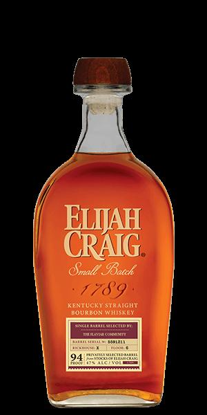 Elijah Craig Small Batch Barrel Selected By The Flaviar Community