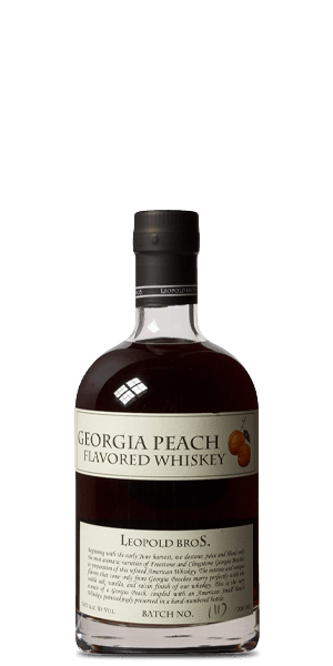 Leopold Bros. Georgia Peach Flavored Whiskey