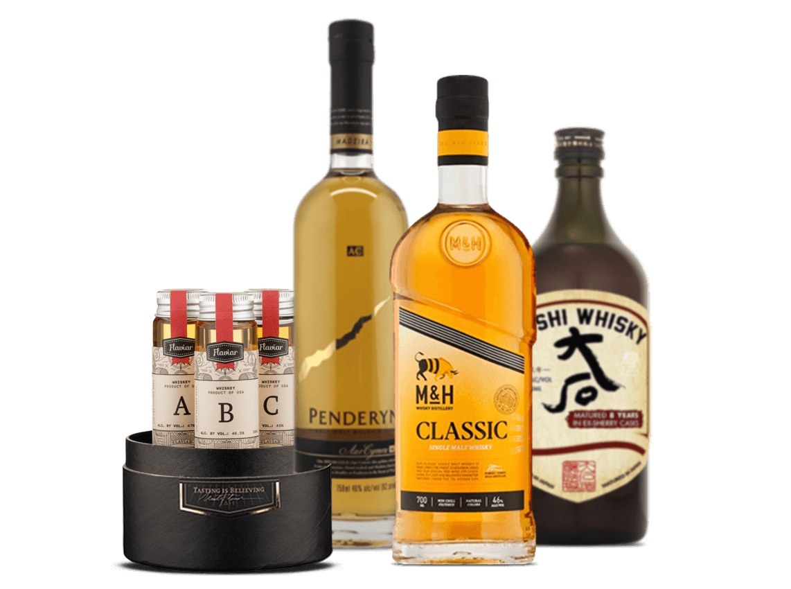 A Tale Of Three Whiskies