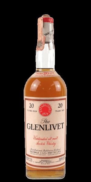 The Glenlivet 20 Year Old 1970s (Baretto Import)