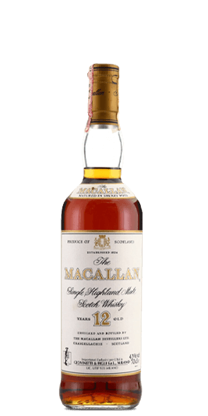 The Macallan 12 Year Old 1990s (Giovinetti Import)