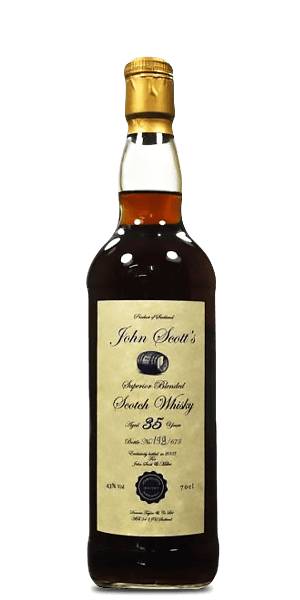 John Scott's 35 Year Old Superior Blended Scotch