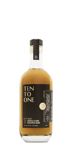Ten To One 17 Year Old Single Cask Reserve Rum