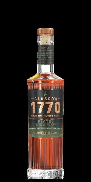 Glasgow 1770 Peated Rich & Smoky Scotch Whisky
