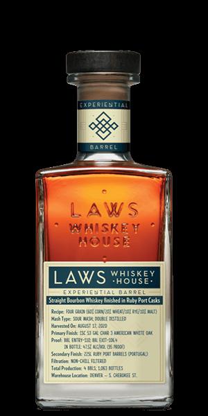 Laws Four Grain Ruby Port Cask Finish Bourbon (Experiential Barrel)