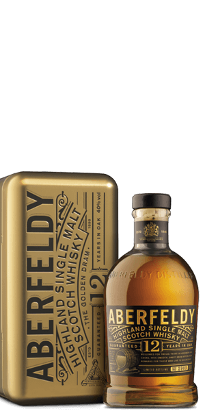 Aberfeldy 12 Year Old Gold Bar Gift Pack